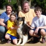 fergie-harris-family