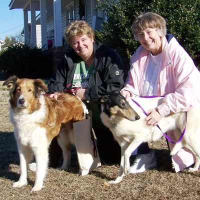 Trinity & Pat, Madeline & Linda