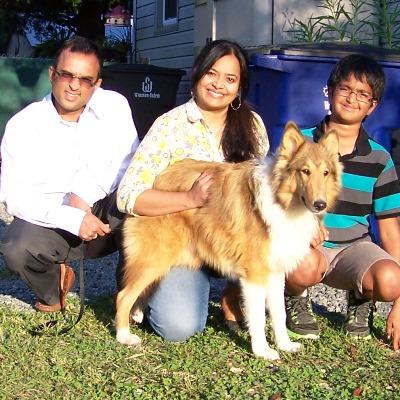 Niles & Harish Family